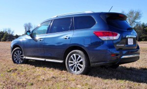 Road Test Review - 2015 Nissan Pathfinder SV 4WD 98
