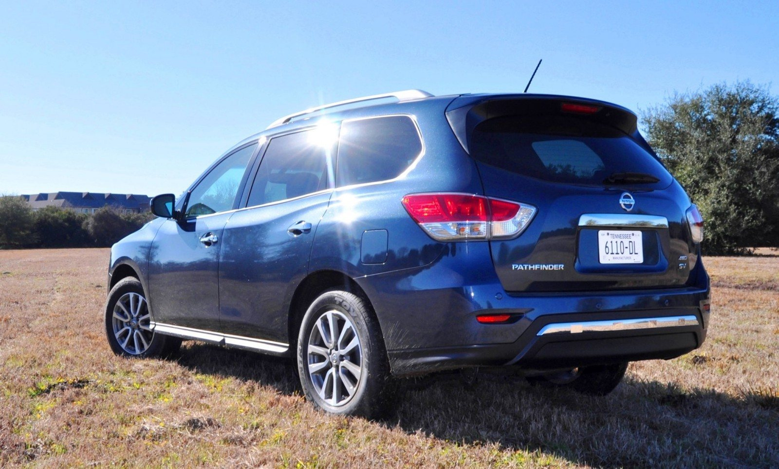 Road Test Review - 2015 Nissan Pathfinder SV 4WD 99