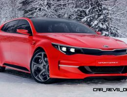 Wow! 2015 Kia SPORTSPACE Concept Previews Future Optima Estate in Stellar Fashion