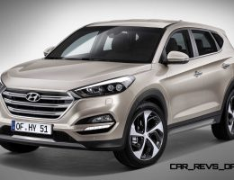 2016 Hyundai Tucson Breaks Cover Ahead of Geneva Show Packing New DCT