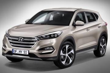 2016 Hyundai Tucson Breaks Cover Ahead of Geneva Show Packing New DCT