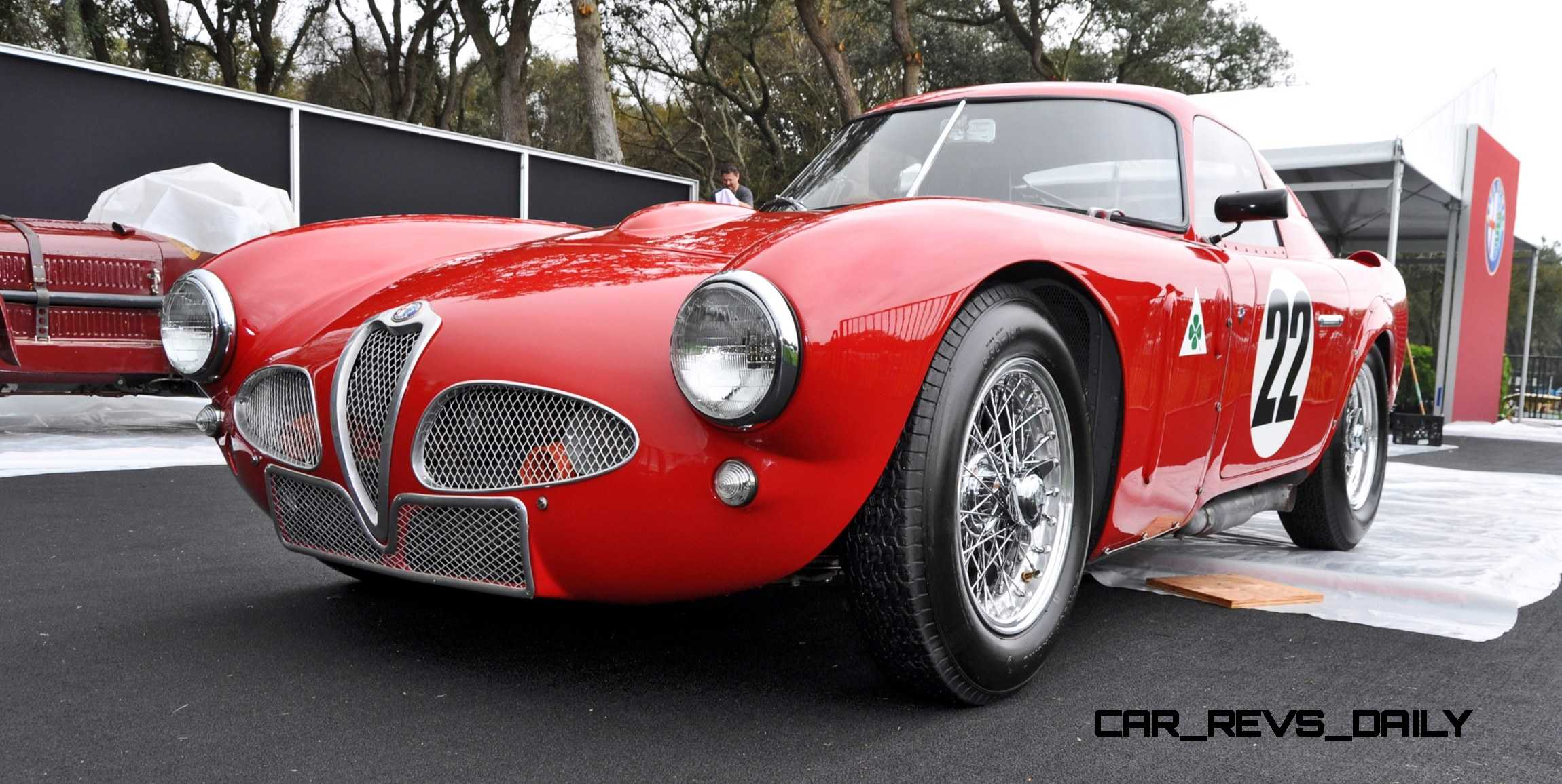 1953 alfa romeo 6c 3000cm shows origin of 2015 4c nose design 10