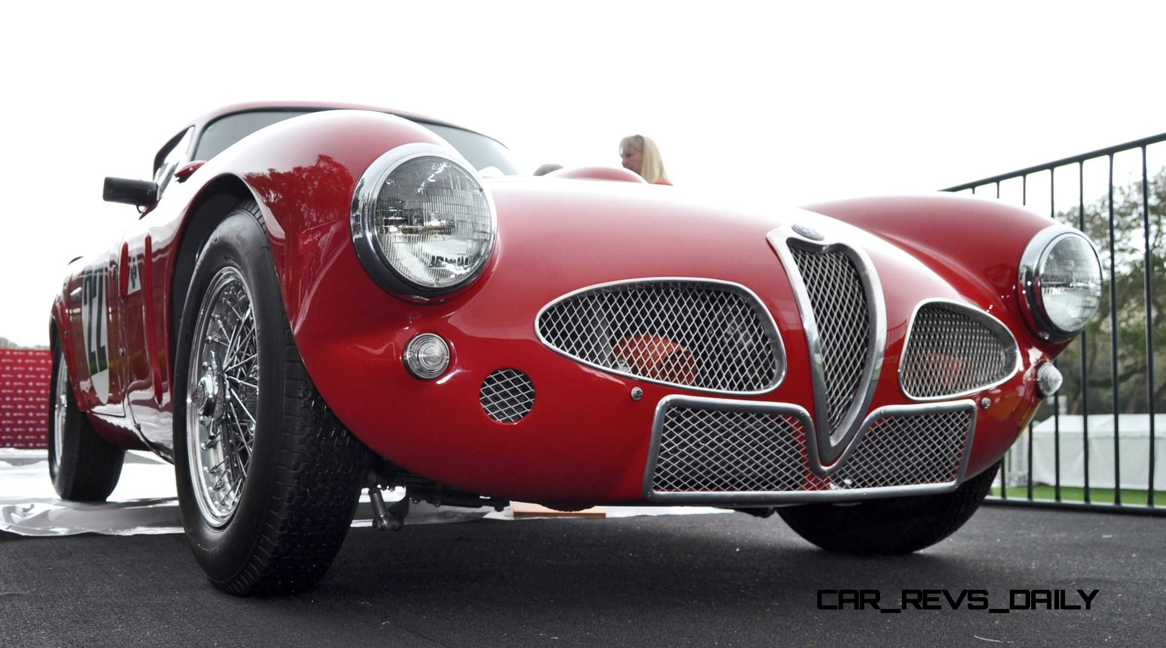 Alfa Romeo C Cm Shows Origin Of C Nose Design on Alfa Romeo C Spiders