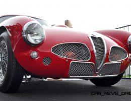 1953 Alfa Romeo 6C 3000CM Shows Origin of 2015 4C Nose Design
