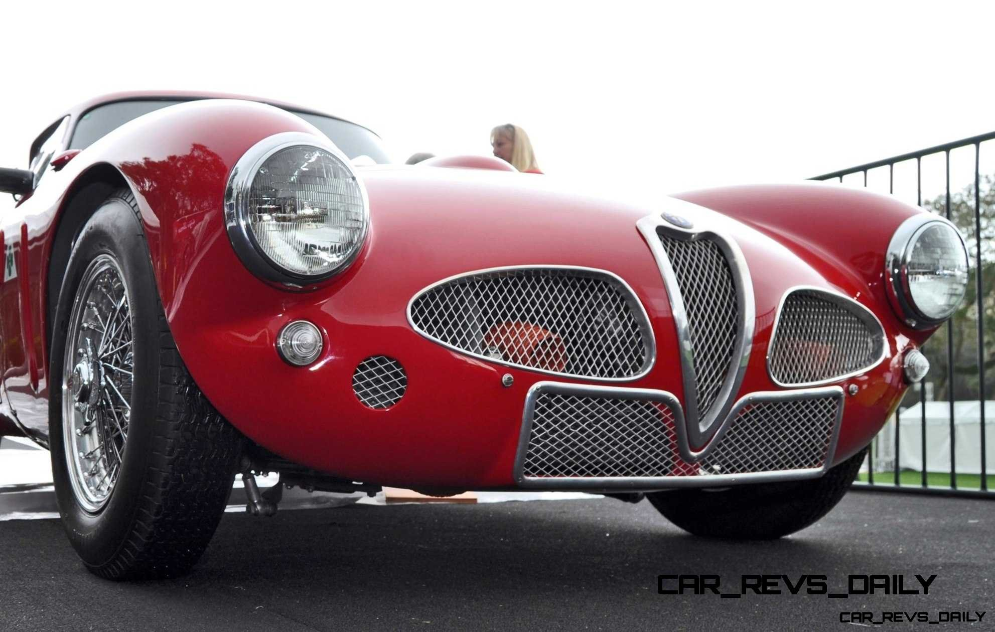 1953 Alfa Romeo 6C 3000CM Shows Origin of 2015 4C Nose Design 25