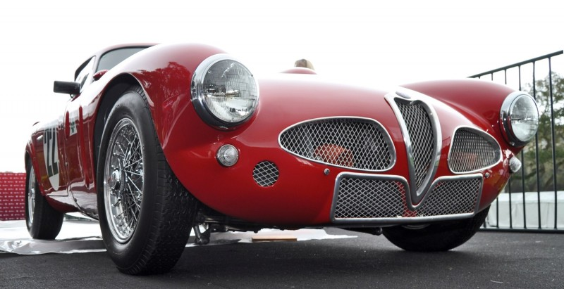 1953 Alfa Romeo 6C 3000CM Shows Origin of 2015 4C Nose Design 26