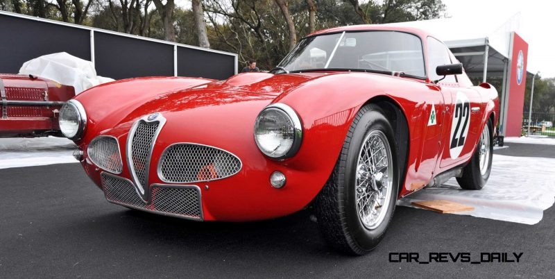 1953 Alfa Romeo 6C 3000CM Shows Origin of 2015 4C Nose Design 9
