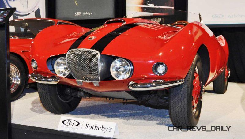 1956 Arnolt-Bristol Deluxe Roadster by Bertone 1