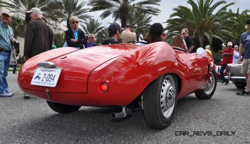 1956 Arnolt-Bristol Deluxe Roadster by Bertone 23