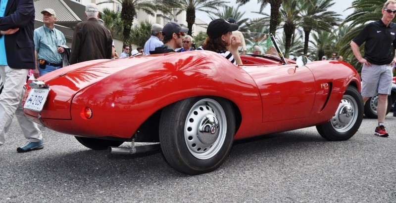 1956 Arnolt-Bristol Deluxe Roadster by Bertone 26