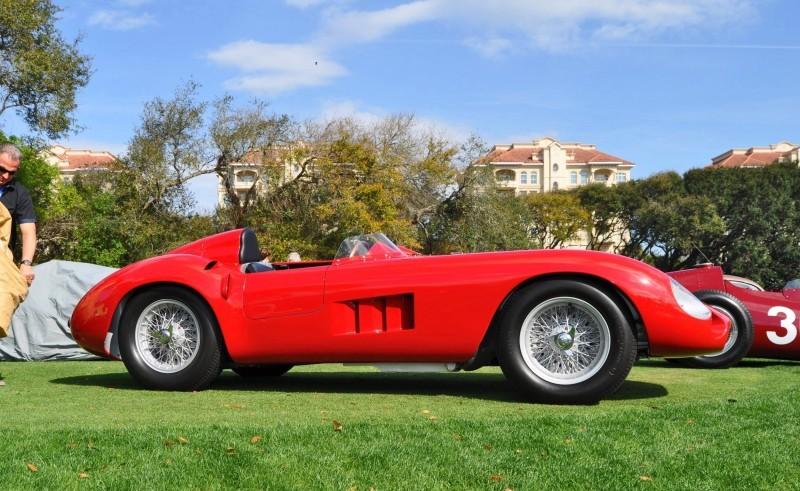 1956 Maserati 300S -  Amelia Island 2015 1