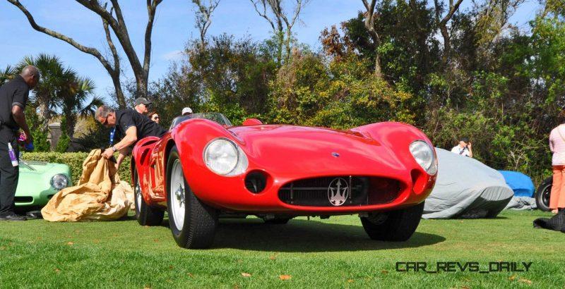 1956 Maserati 300S -  Amelia Island 2015 10
