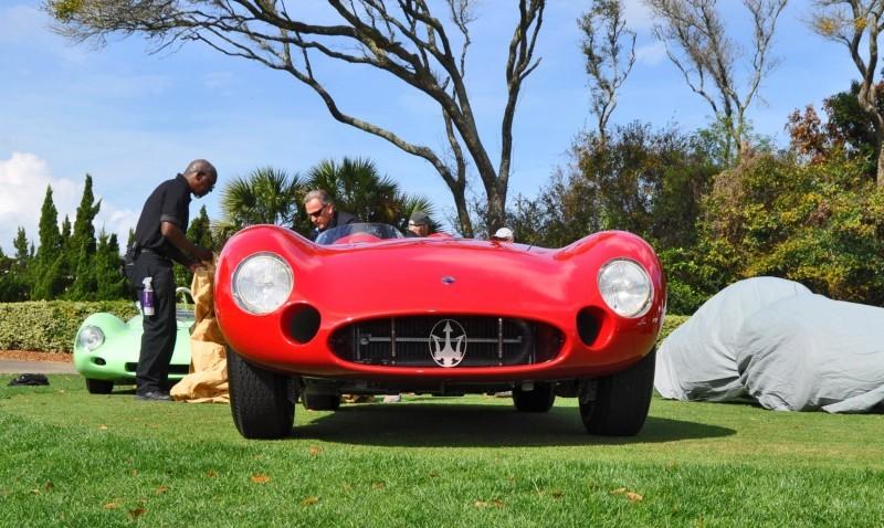 1956 Maserati 300S -  Amelia Island 2015 14