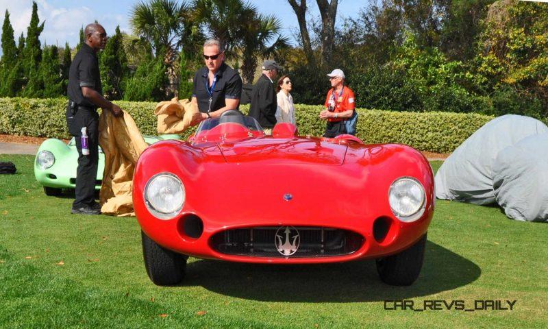 1956 Maserati 300S -  Amelia Island 2015 15