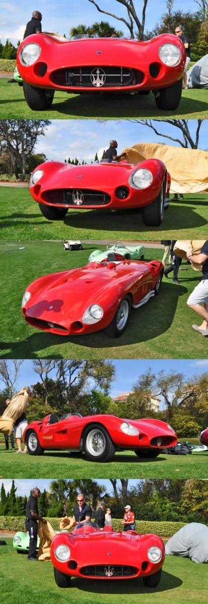 1956 Maserati 300S -  Amelia Island 2015 17-vert