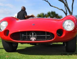 1956 Maserati 300S Wins Amelia Island 2015 Stirling Moss Award