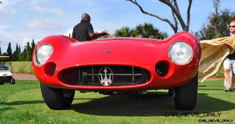 1956 Maserati 300S -  Amelia Island 2015 18