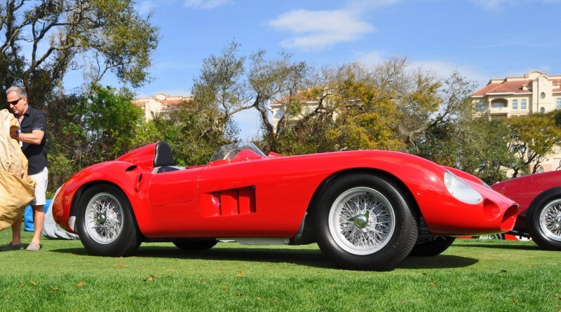 1956 Maserati 300S -  Amelia Island 2015 4