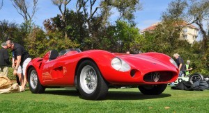 1956 Maserati 300S -  Amelia Island 2015 7