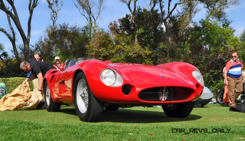 1956 Maserati 300S -  Amelia Island 2015 9