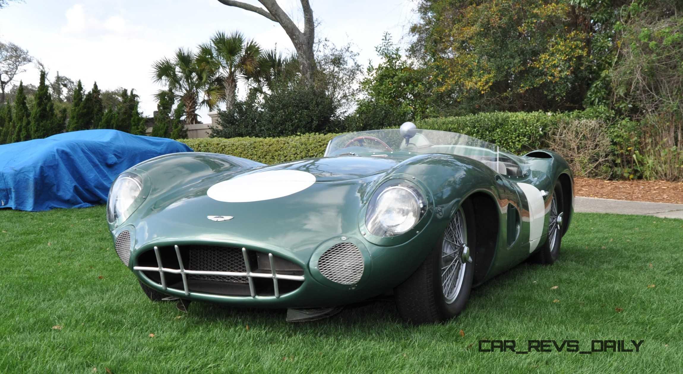 Aston Martin DBR - 1957 aston martin
