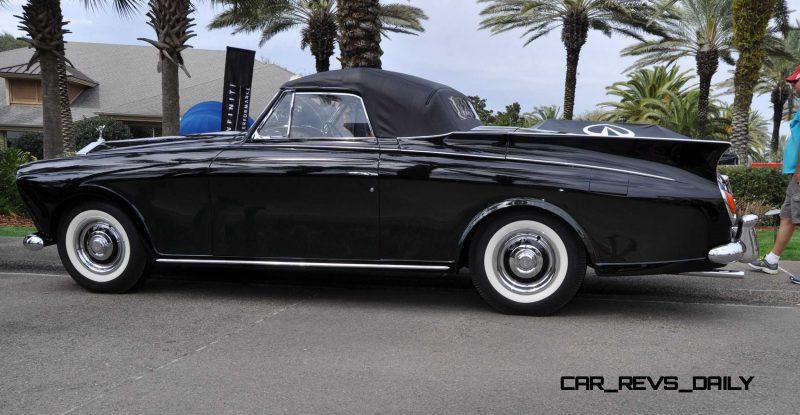 1958 Rolls-Royce Silver Cloud Honeymoon Express 13