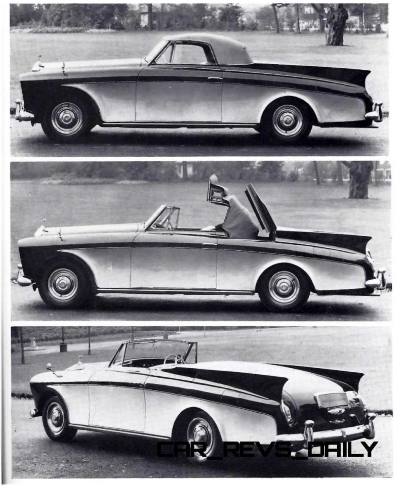 1958 Rolls-Royce Silver Cloud Honeymoon Express 43