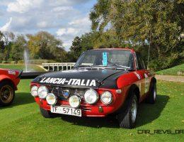 Amelia Island 2015 – 1969 Lancia Fulvia 1600 HF Rallye Car