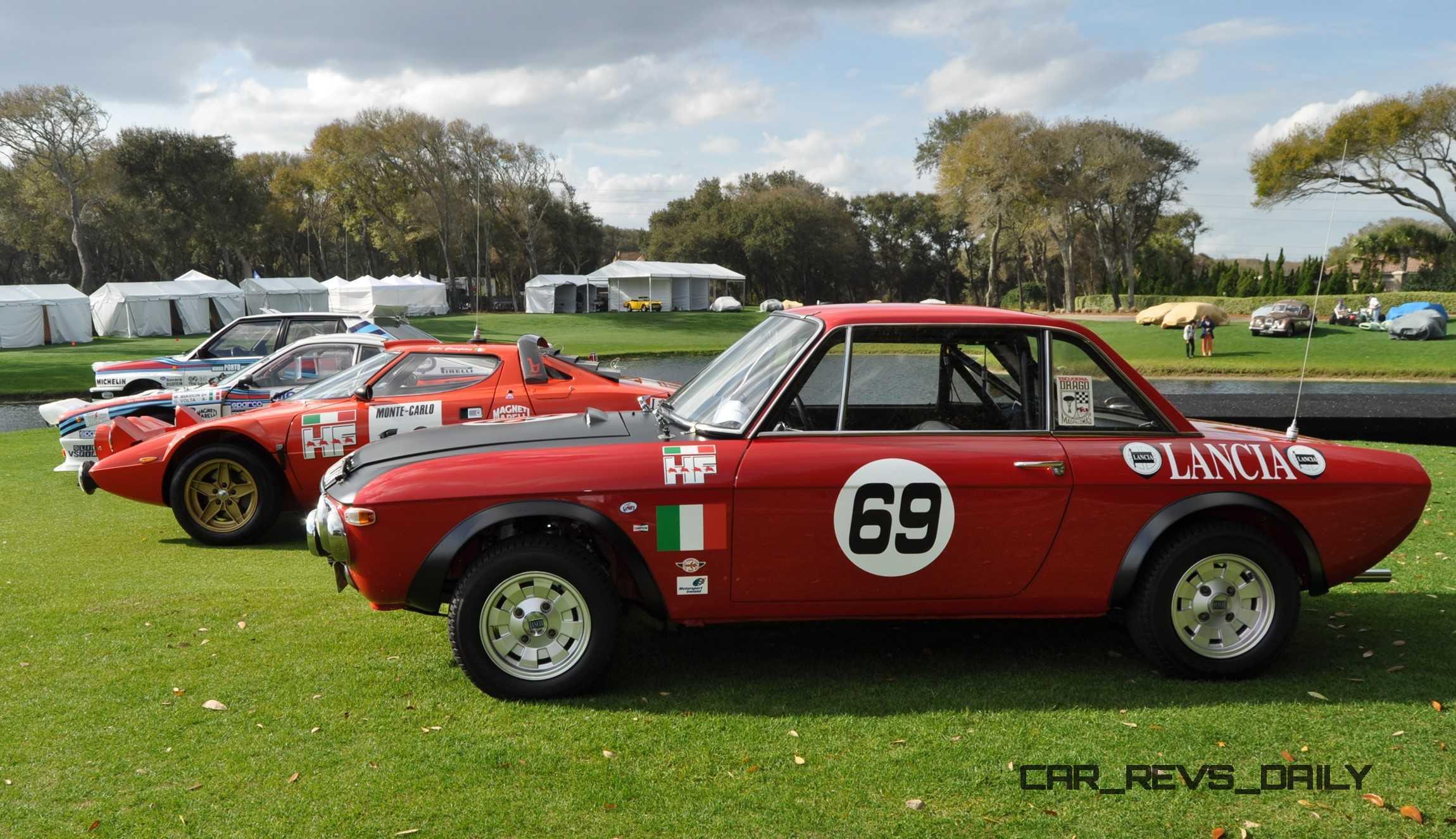 1969 Lancia Fulvia 1600 HF Rallye