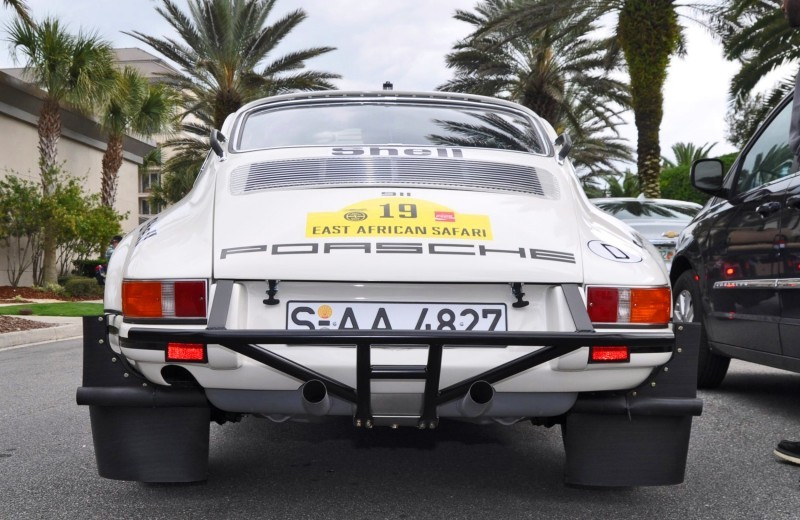 1971 Porsche 911 East African Rally Car 1