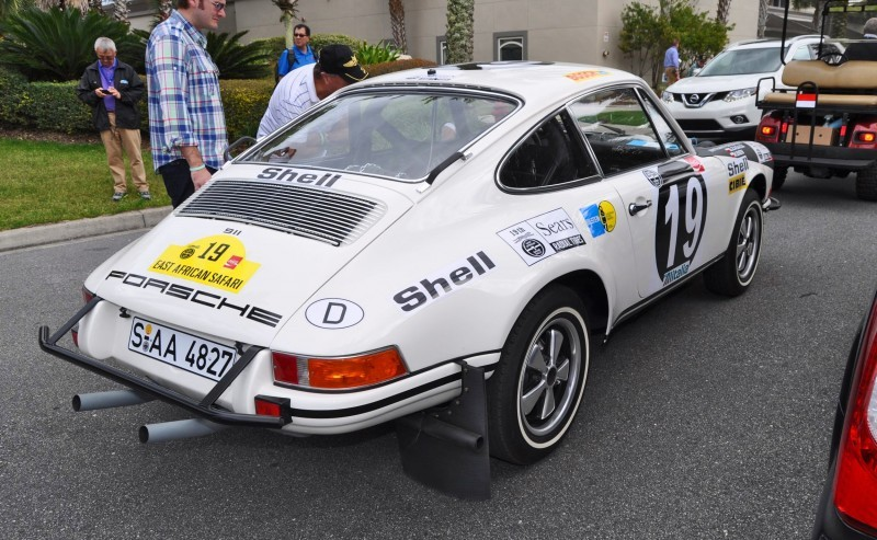 1971 Porsche 911 East African Rally Car 10
