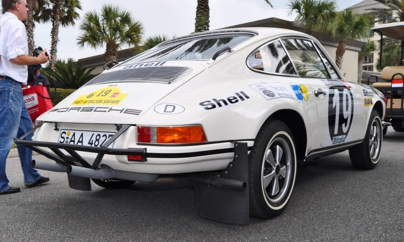 1971 Porsche 911 East African Rally Car 11