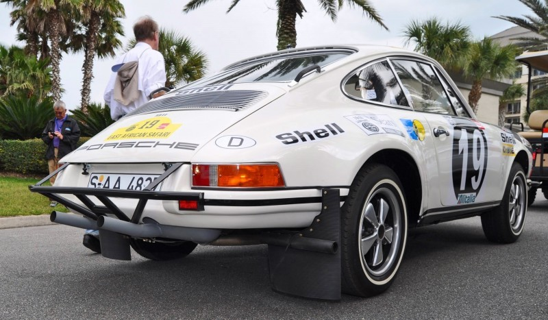 1971 Porsche 911 East African Rally Car 12