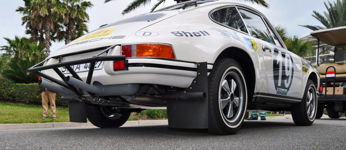 1971 Porsche 911 East African Rally Car 14