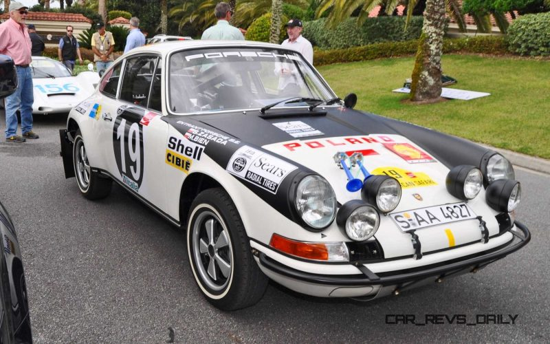 1971 Porsche 911 East African Rally Car 19