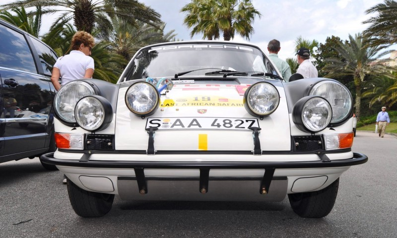 1971 Porsche 911 East African Rally Car 24