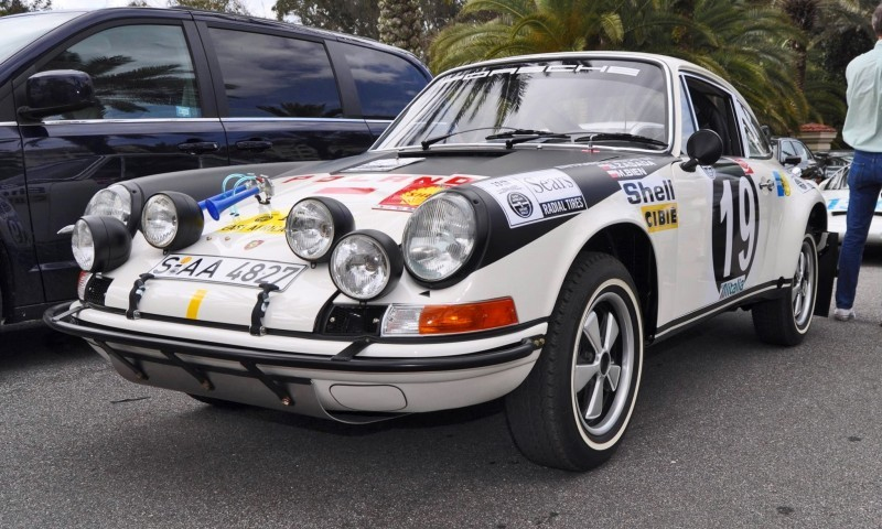 1971 Porsche 911 East African Rally Car 31