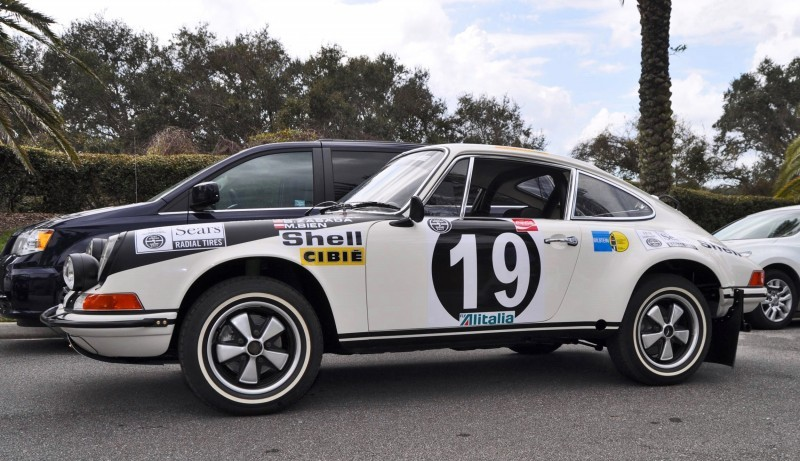 1971 Porsche 911 East African Rally Car 32