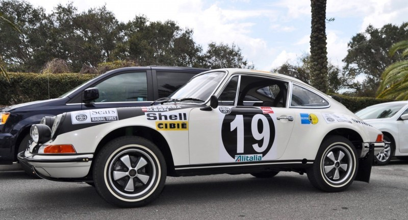 1971 Porsche 911 East African Rally Car 33