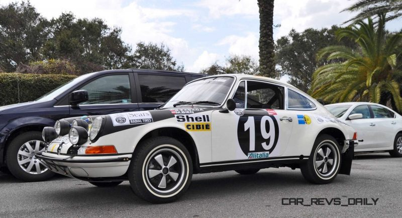 1971 Porsche 911 East African Rally Car 35