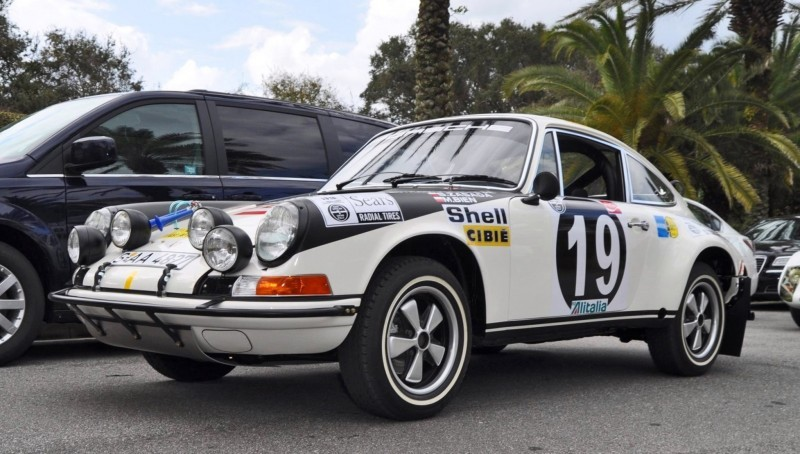 1971 Porsche 911 East African Rally Car 36