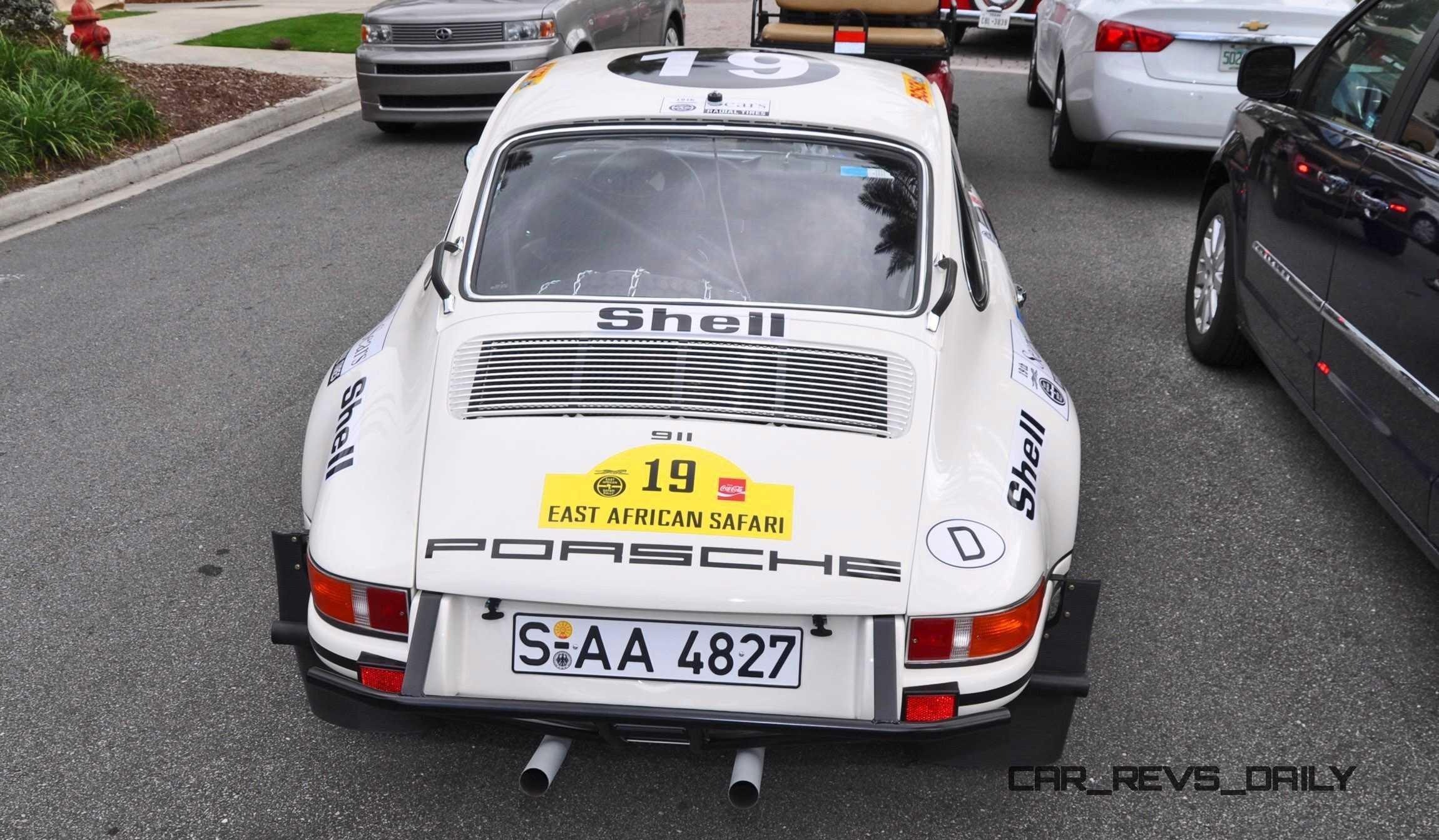 1971 Porsche 911 East African Rally Car