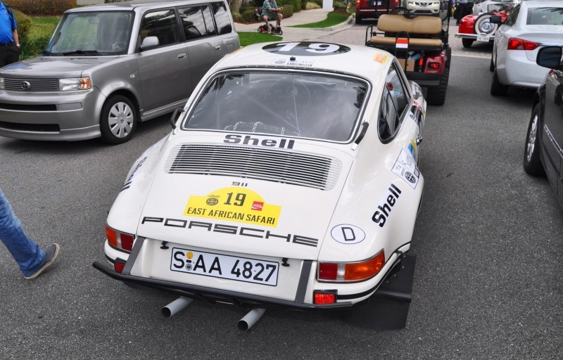 1971 Porsche 911 East African Rally Car 7