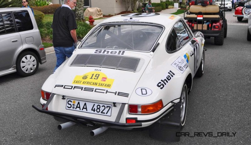 1971 Porsche 911 East African Rally Car 8