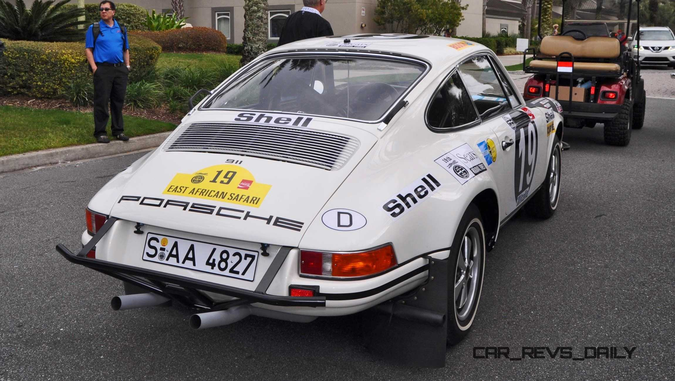 1971 Porsche 911 East African Rally Car
