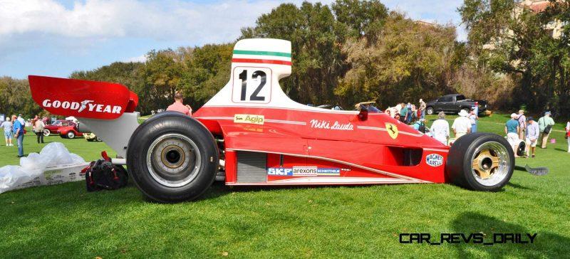 1975 Ferrari 312T F1 Car 15