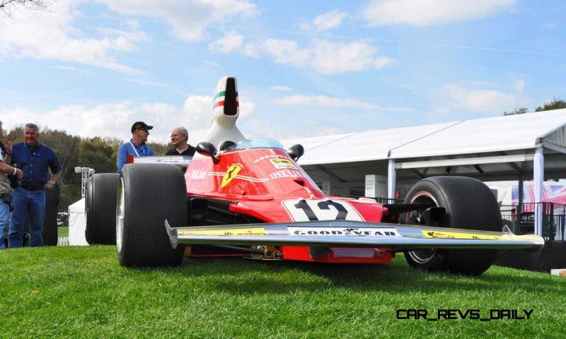 1975 Ferrari 312T F1 Car 21
