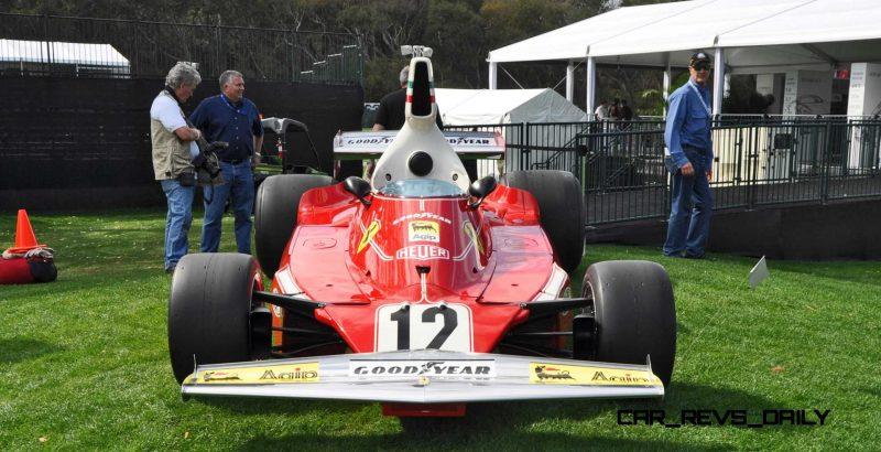1975 Ferrari 312T F1 Car 27
