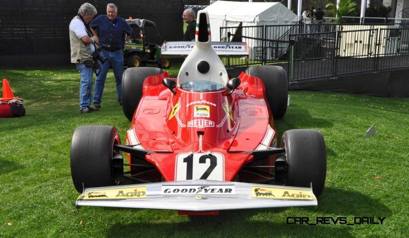 1975 Ferrari 312T F1 Car 28