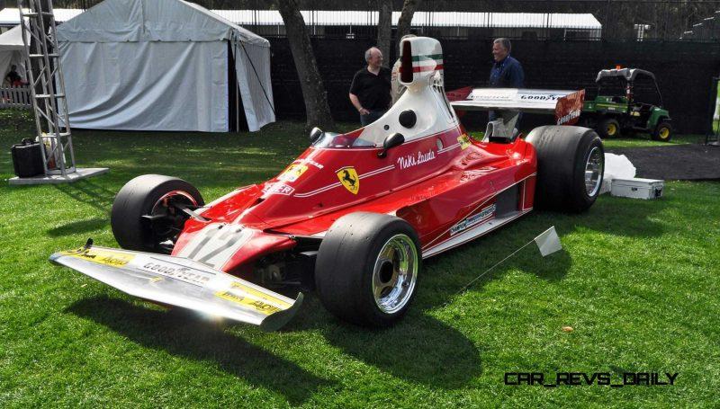Pebble Beach 2019 : Ferrari , Ferrari et Ferrari ! 1975-Ferrari-312T-F1-Car-32-800x455